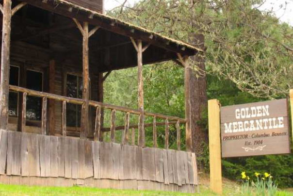 Golden State Heritage Site in Wolf Creek Oregon