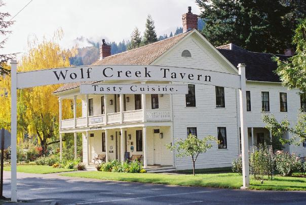 Wolf Creek Inn State Heritage Site in Wolf Creek Oregon