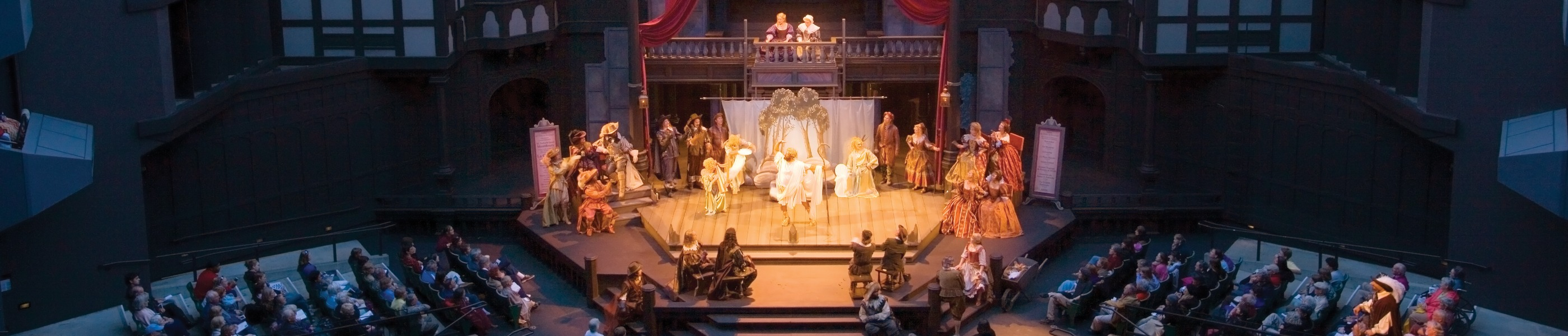 A play in session at the Oregon Shakespeare Festival