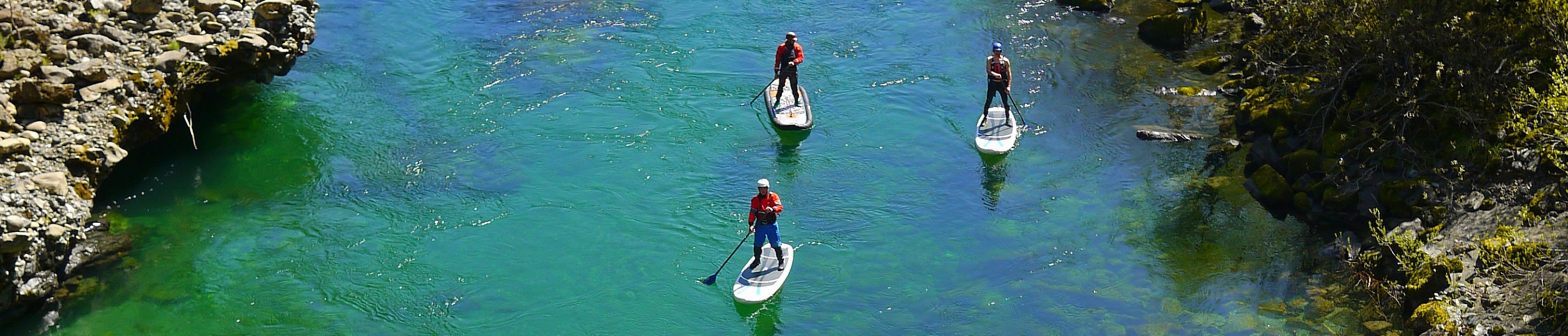 Kayakers enjoying a day on the Rogue River