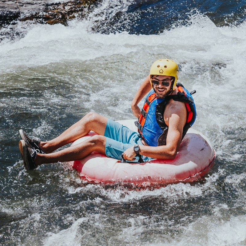Water activities on the Rogue River