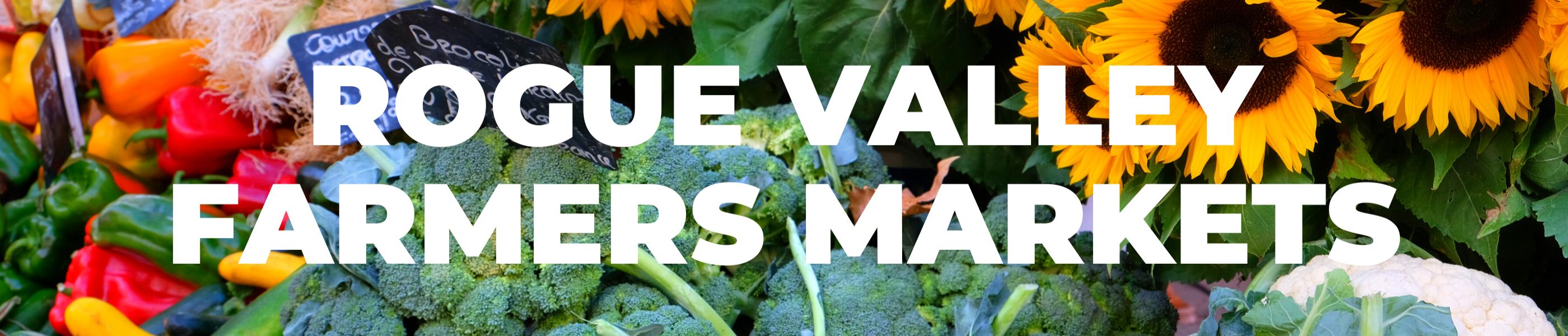 Rogue valley farmers markets, fresh produce,