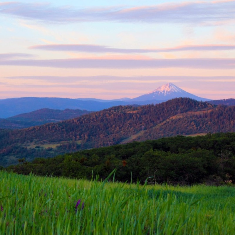 Roxy Ann Peak in Medford, Oregon