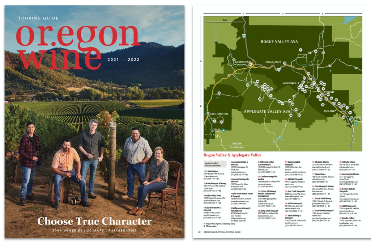Oregon Wine Touring Guide