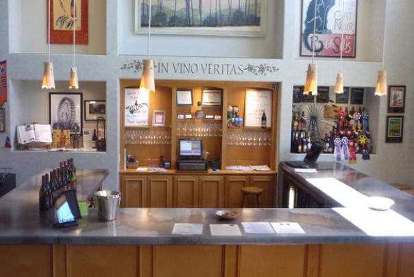 brandborg wines tasting room