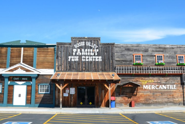 Rogue Valley Family Fun Center located in Central Point Oregon
