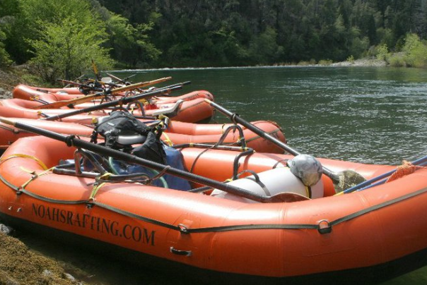 Noahs River Rafting Company based out of Ashland Oregon