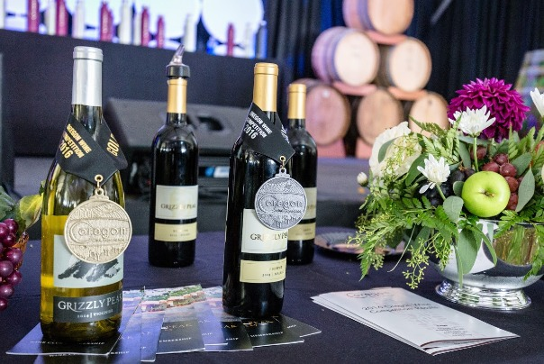 Award-winning wines at the Oregon Wine Experience