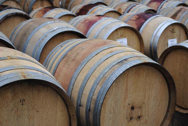 Schmidt Family Vineyards, wine, winery, barrels, wine country
